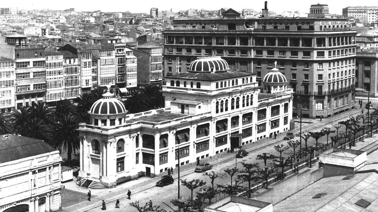 Una firma para hacer el hospital del futuro.Imagen de archivo del exterior del Palacio de la Ópera