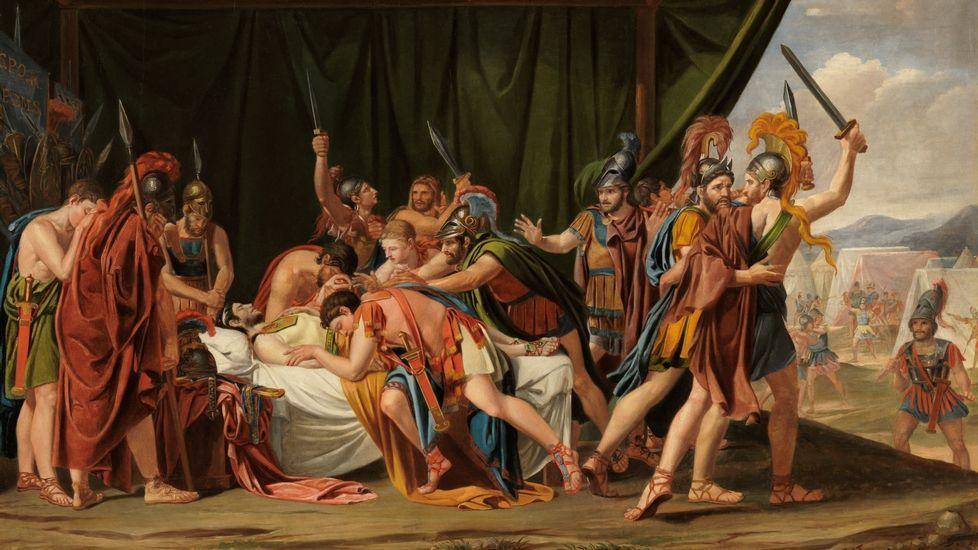 Los 27 conmemoran el Tratado de Roma.«Muerte de Viriato», de José de Madrazo, considerado la obra cumbre del neoclasicismo español. Museo del Prado