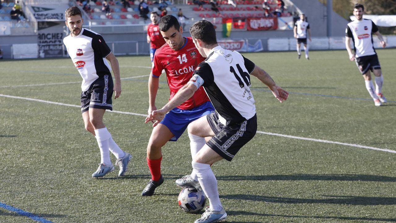 Los de Rubén Domínguez apretaron al Alondras, pero no pasaron del empate