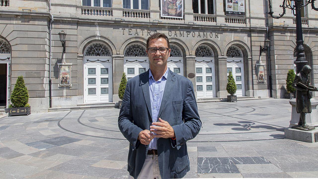 José Luis Costillas, concejal de Cultura del Ayuntamiento de Oviedo