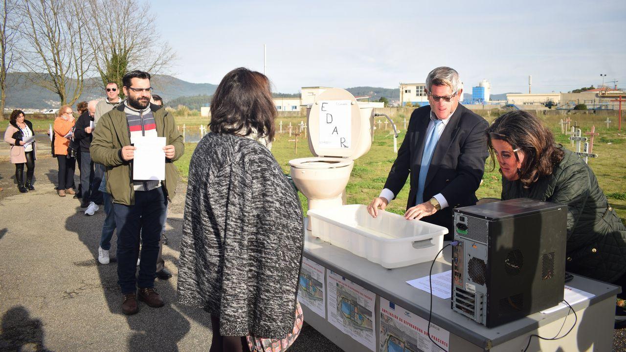 «Teño un paciente citado cada dous ou tres minutos».Las instalaciones ya pueden tratar residuos procedentes de 295 concellos de Galicia