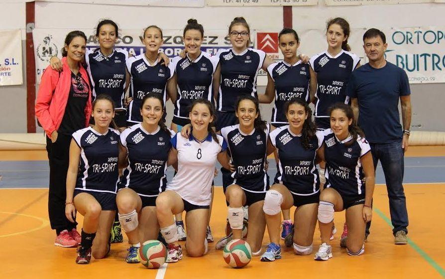Las jugadoras de Manolo Martínez se estrenan hoy en la copa de España de voleibol en Guadalajara