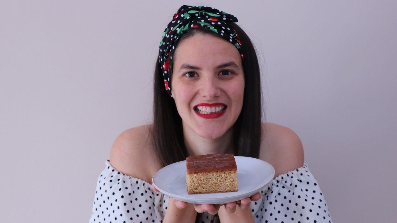 Elisa Casal, autora do blog «Kukinhas», que comparte receitas de todos os continentes