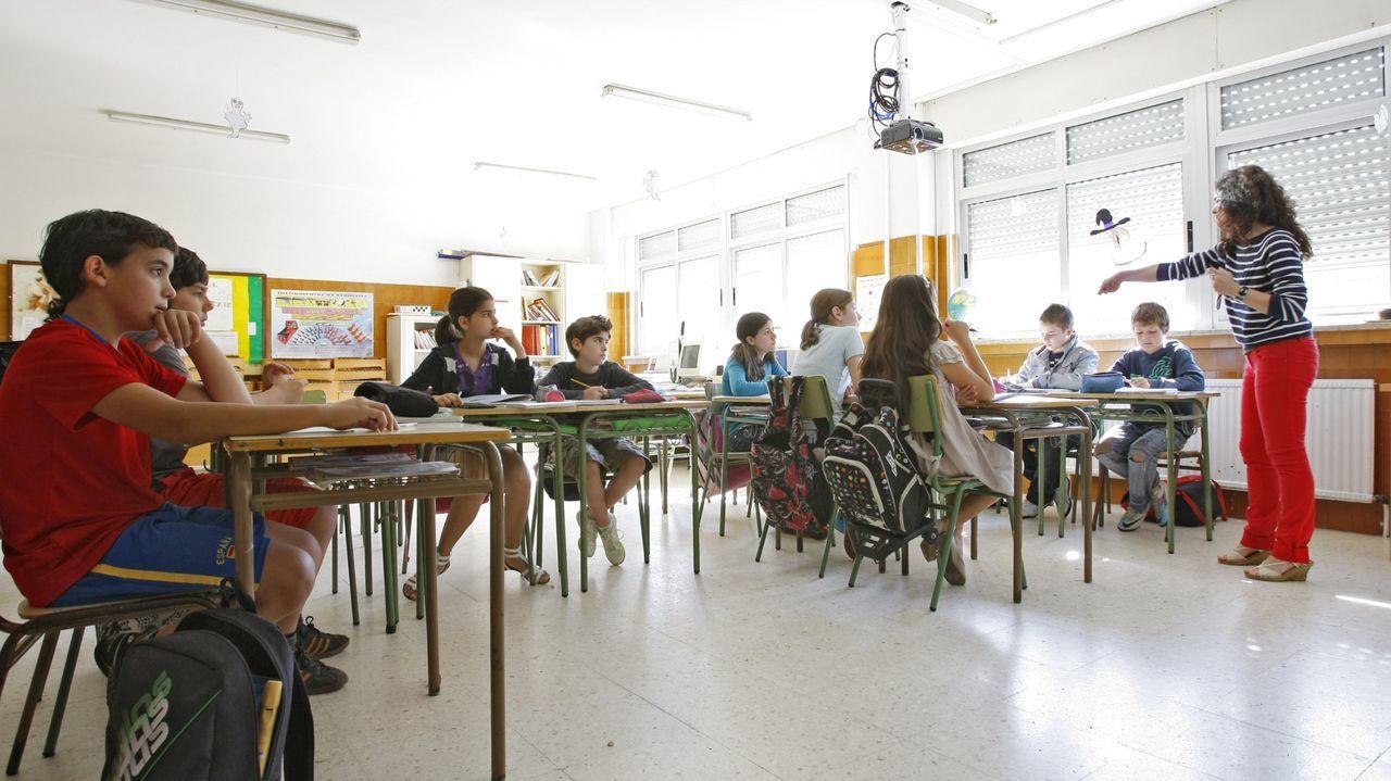 Os alumnos do colexio Saco e Arce de Toén xa acumulan varios premios en concursos similares