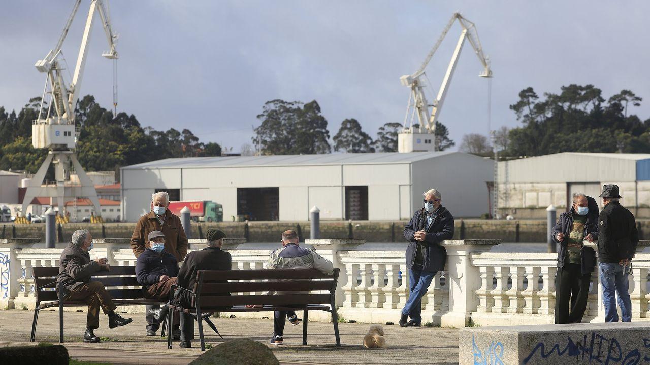 En la imagen, de archivo, contribuyentes hacienda la declaración en la sede de Hacienda en Ferrol