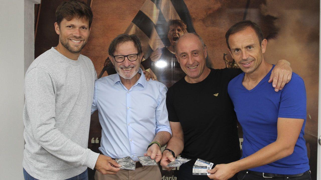 Juan Antonio Anquela y Sergio Egea