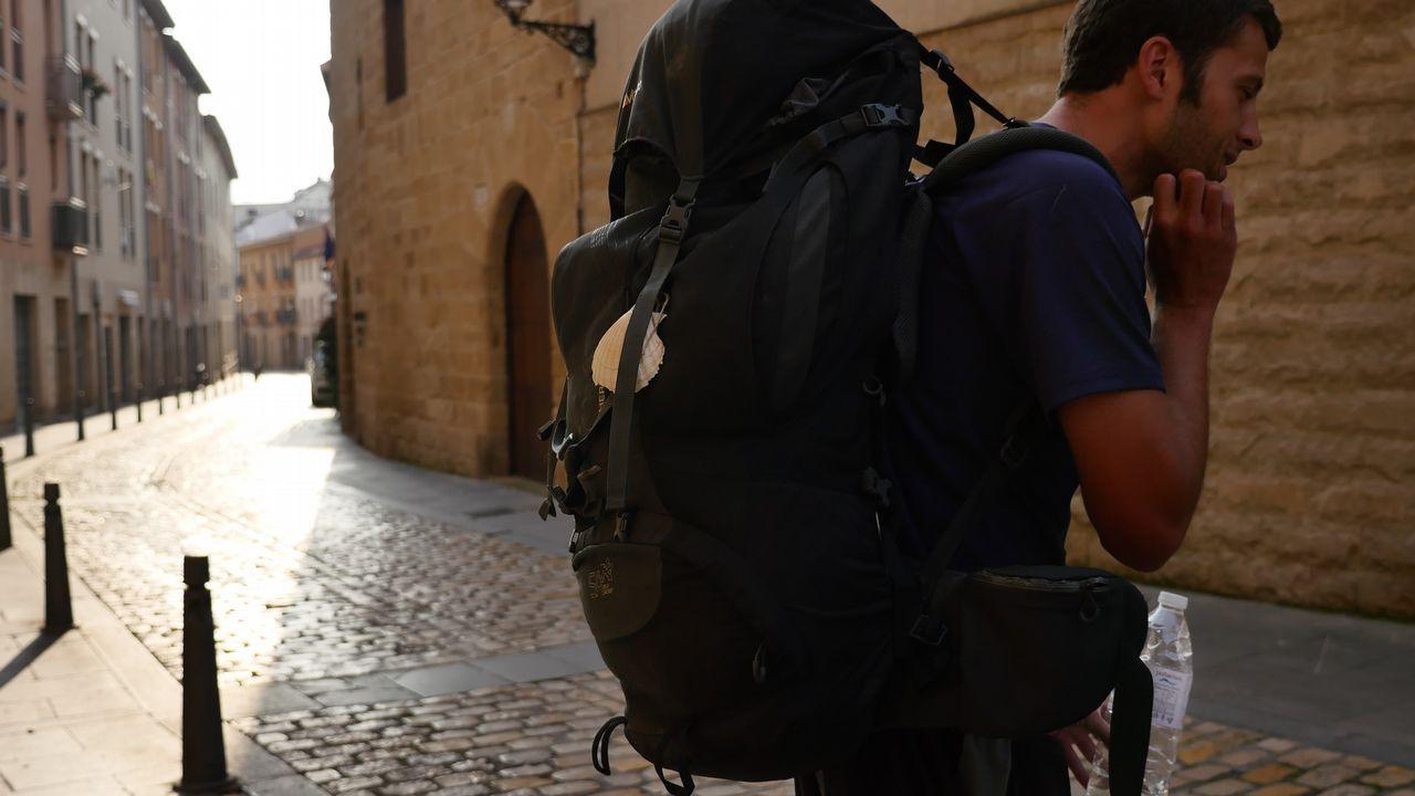 Las mochilas también hablan de sus dueños. Esta es de un tamaño considerable