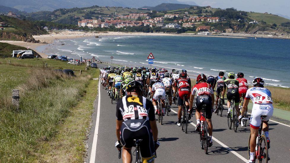 Las mejores imágenes de la etapa.Iván Cortina