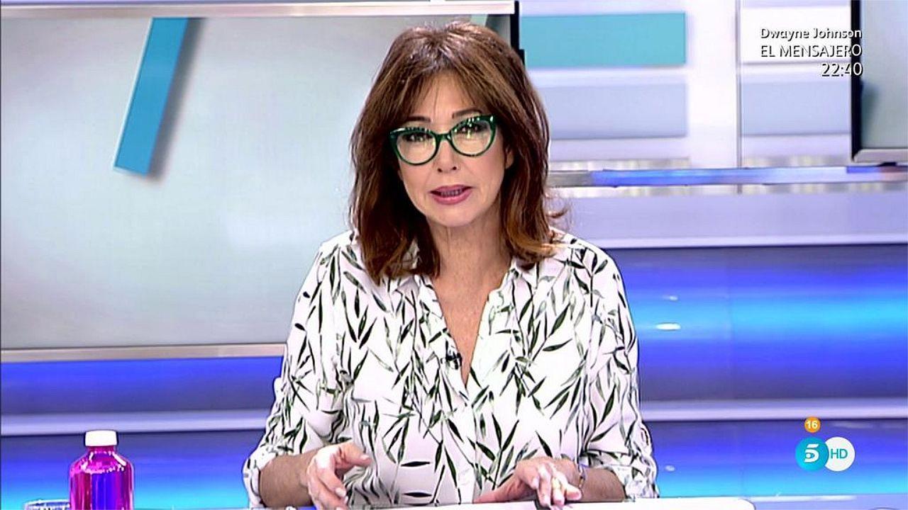 María Teresa Campos habla del suicidio de su marido.María Castro, durante la pedida de mano en «El Hormiguero»