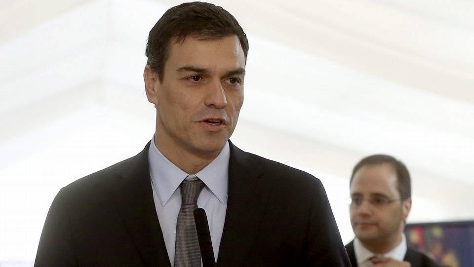 Eduardo Madina, durante el pleno del Congreso.