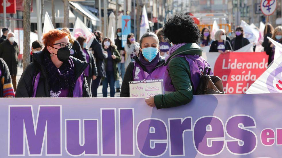 Movilización en Pontevedra