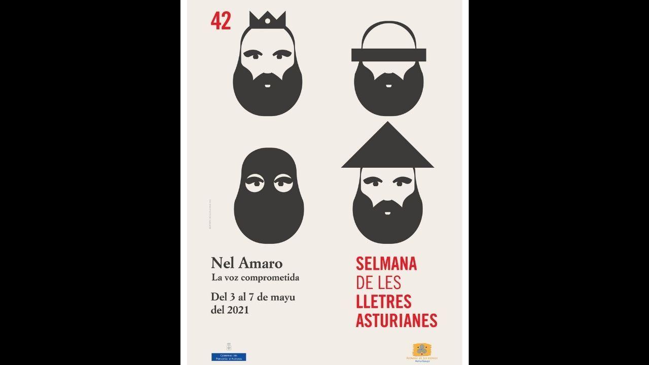 Cultura presenta la programación de la '42 Selmana de les Lletres', centrada en el homenaje a Nel Amaro