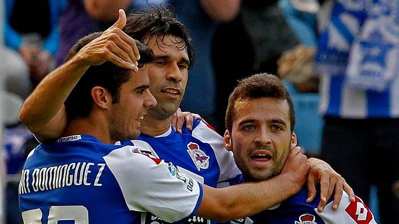 El Deportivo llega a Pontevedra en la previa del derbi gallego contra el Celta