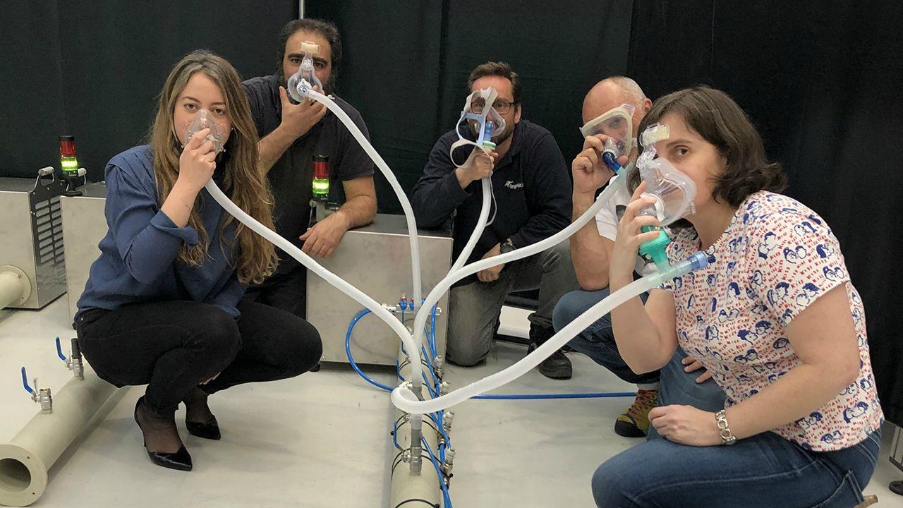 Prototipo de respiradores no invasivos realizado en Asturias