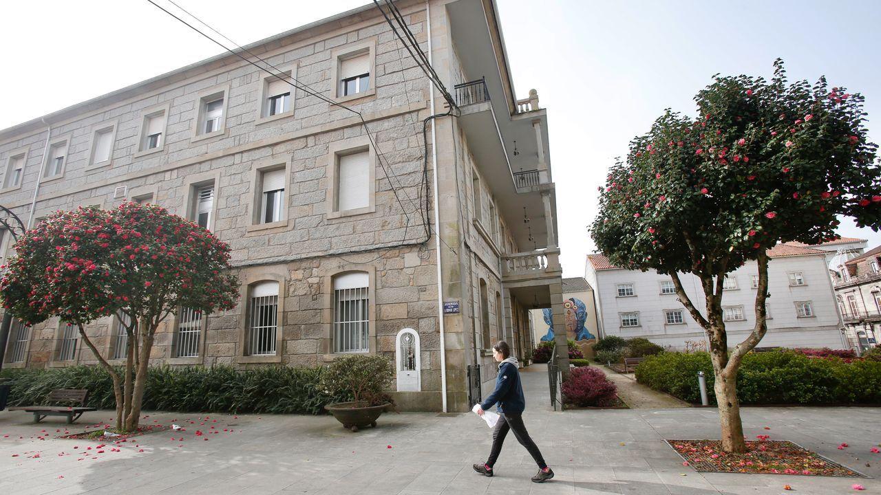 Residencia de ancianos de Caldas de Reis, donde ha aparecido un caso positivo por coronavirus