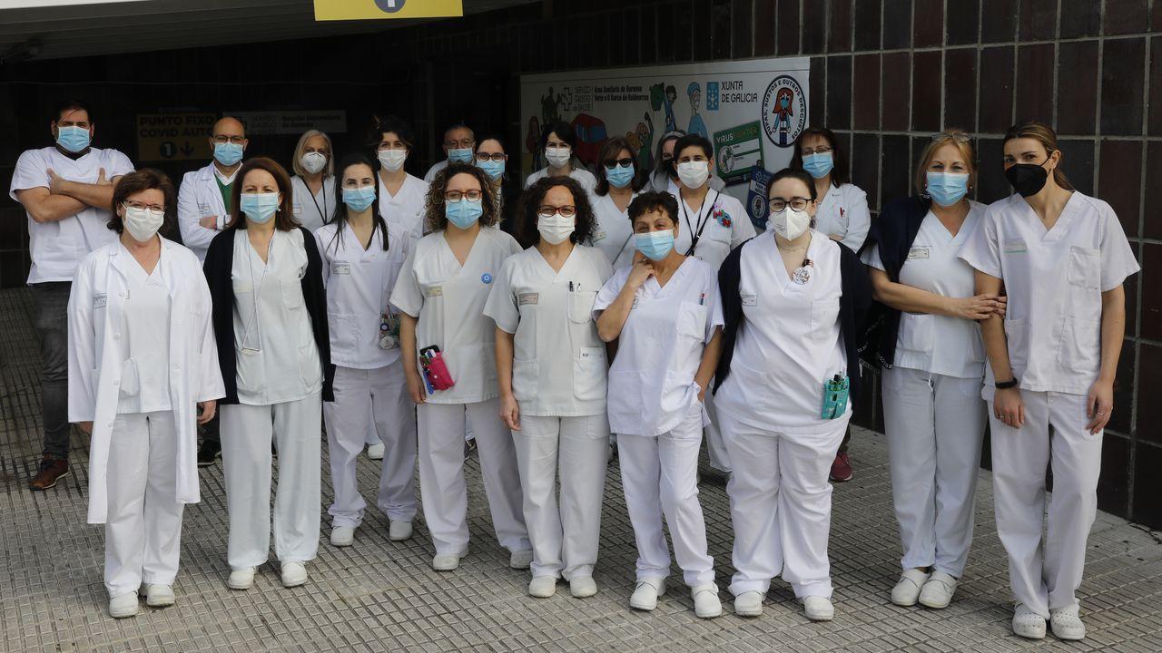 El equipo de Microbiología del CHUO, cuyo trabajo se multiplicó exponencialmente por la pandemia