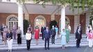 Foto de familia de todos los ministros en la escalinata del Palacio de la Moncloa.Foto de familia de todos los ministros en la escalinata del Palacio de la Moncloa