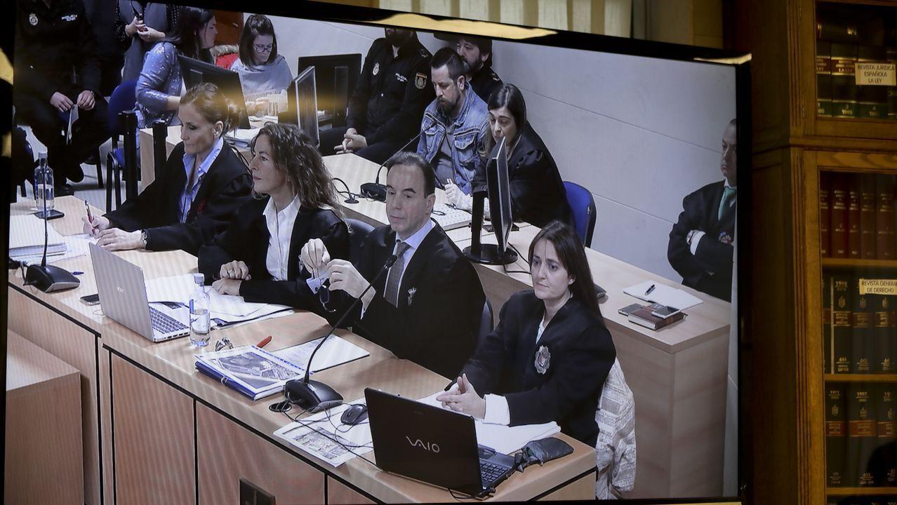 Imagen tomada desde la sala de prensa