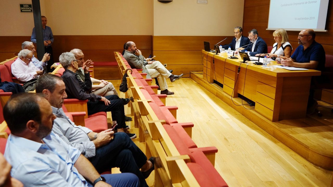 Reunión de la junta directiva de la CEO del pasado año