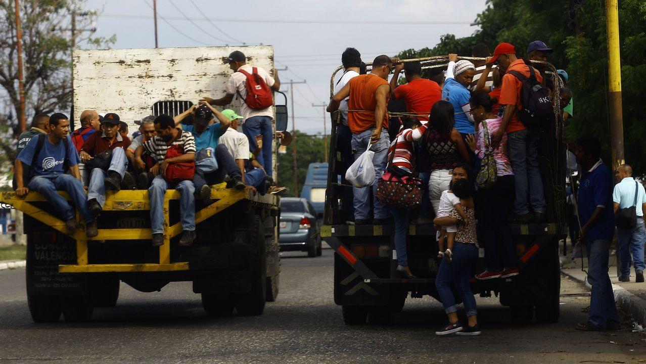 Laboratorio investigacion farmacos ensayos clínicos.Vecinos de Carabobo usan los camiones vacíos para moverse por toda la ciudad cada que se suspende el transporte público