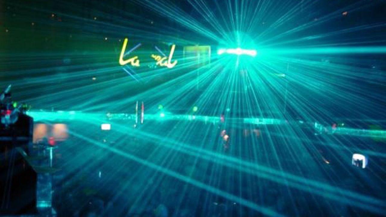 Interior de la mítica discoteca La Real, uno de los grandes lugares de culto de la noche ovetense