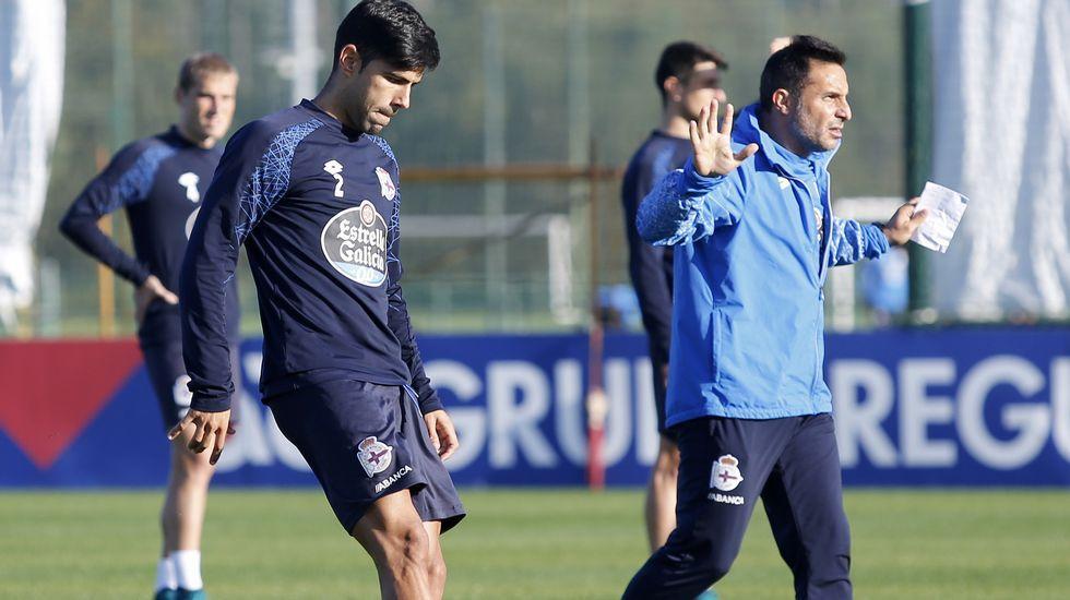 El Dépor se conciencia para recibir al Valencia