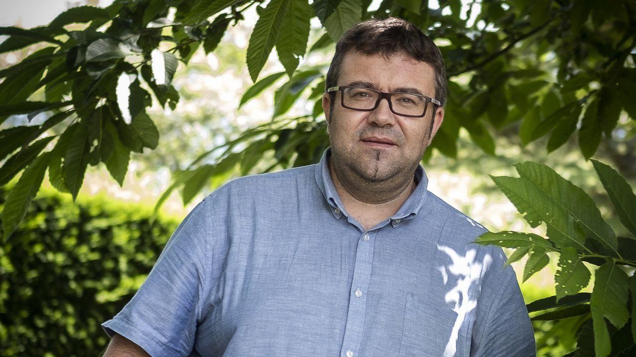 Ernesto Fernández Pérez fue presidente de la Asociación de Amigos da Banda de Celanova los últimos ocho años