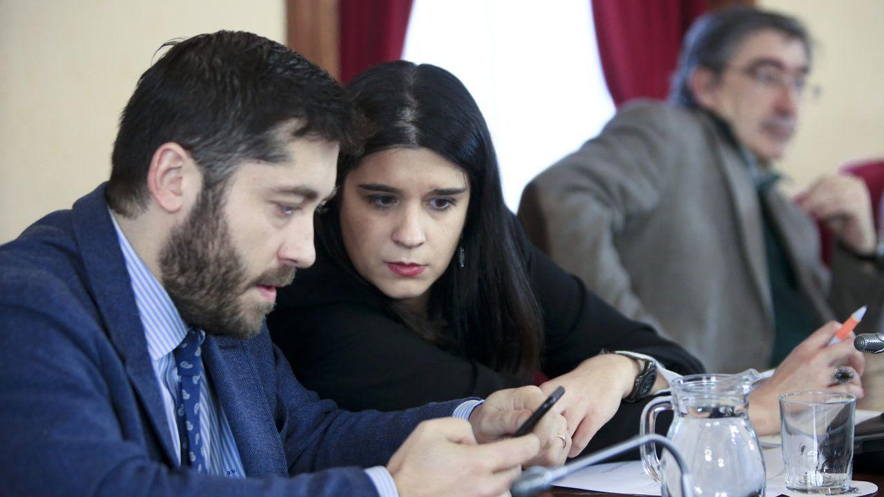 Los caniles de Lugo a revisión.Los concejales de Ciudadanos en un pleno