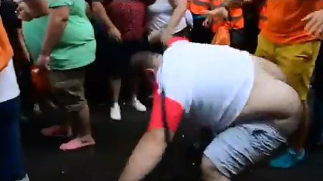 Sergio Álvarez en el desfile del Orgullo