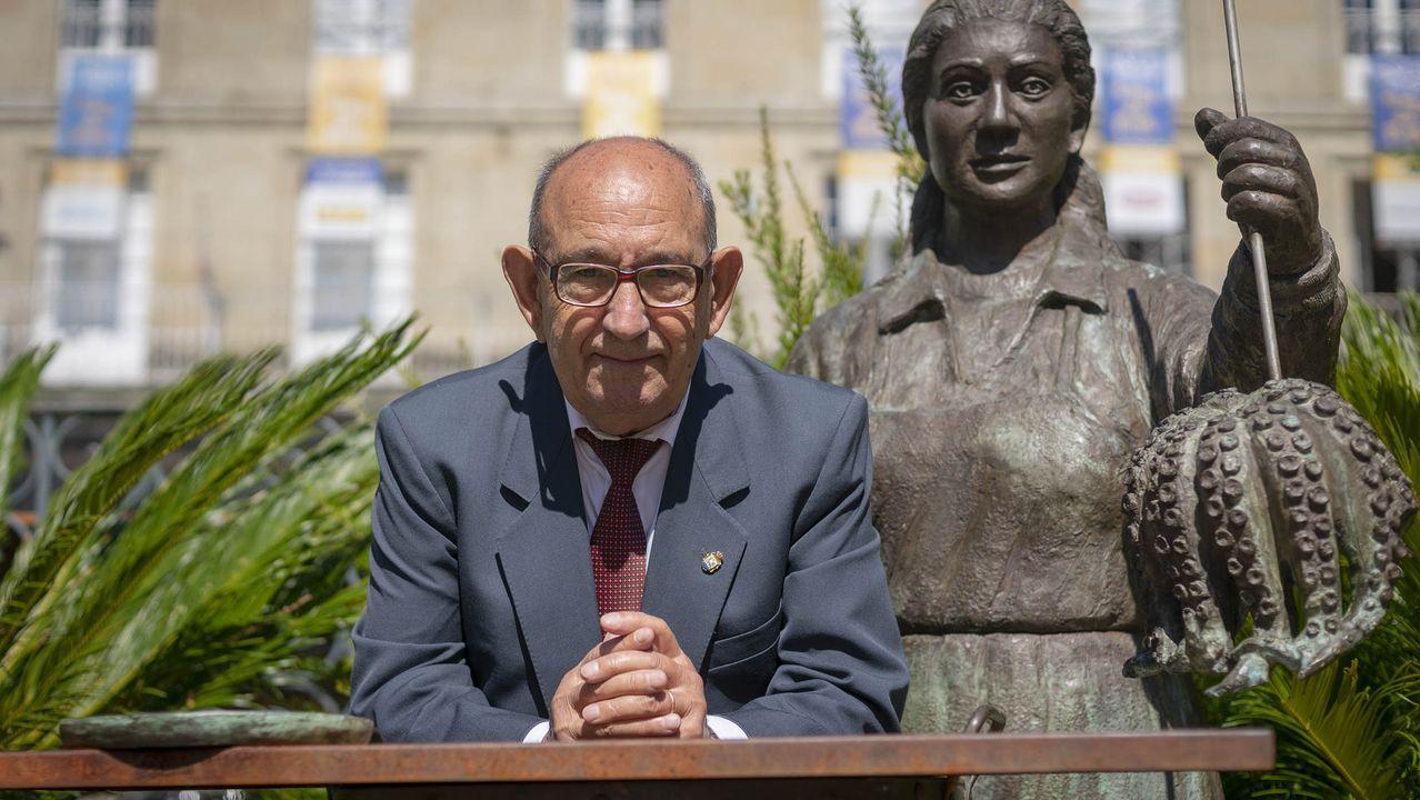 La jueza Pilar de Lara, durante un registro en el 2015