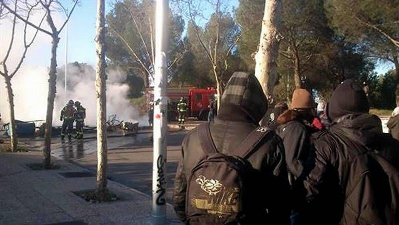 Los estudiantes salen a la calle en Madrid para protestar en contra de la LOMCE.<span lang= es-es >Contra los sindicatos</span>. El presidente de Coca-Cola critica su actitud en la negociación.