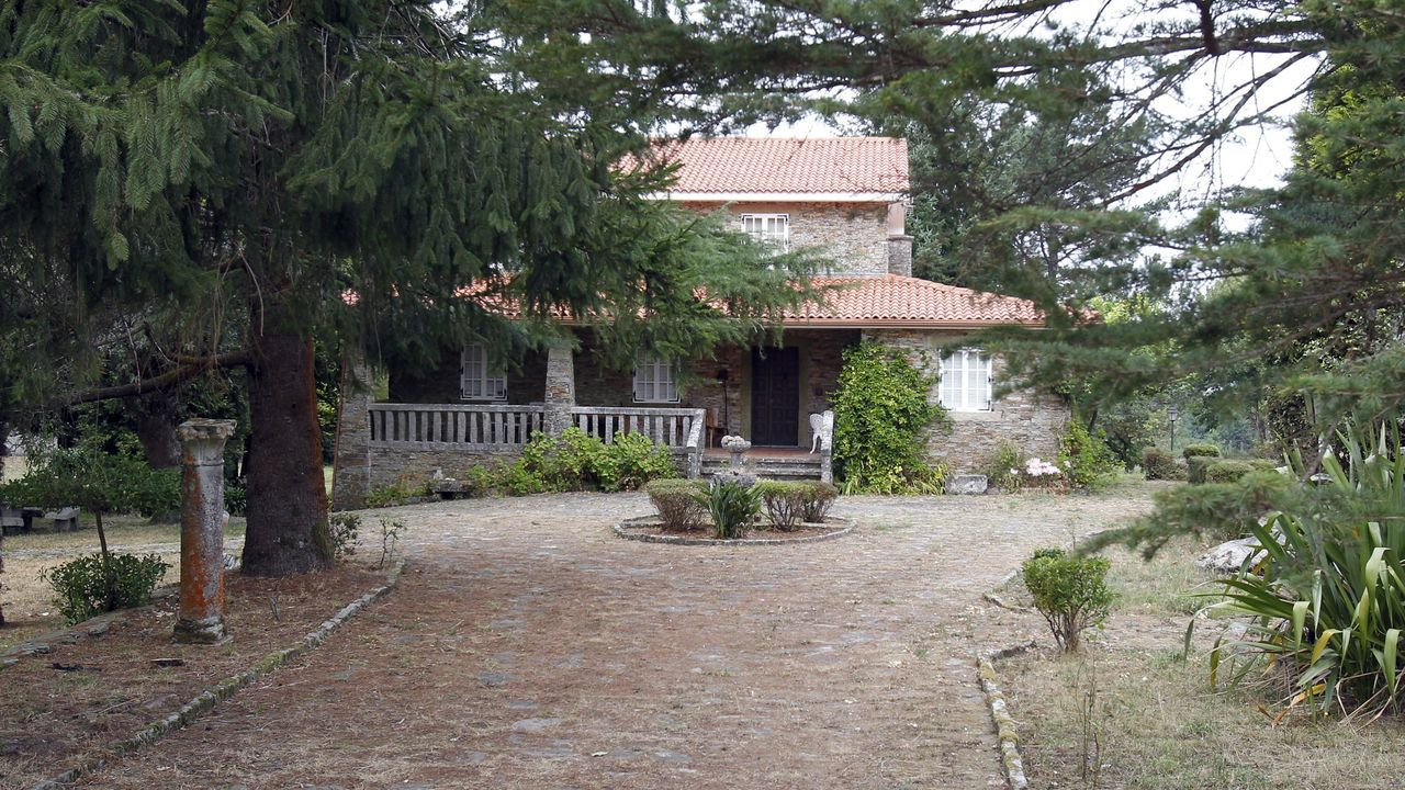 Casa de la familia Rosario Porto en Teo