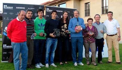 Los ganadores de la primera prueba del circuito Cenor