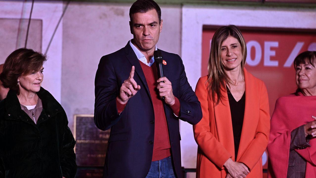 Sánchez asegura que esta vez «sí o sí» habrá Gobierno progresista.Pedro Sánchez, este jueves, con el presidente electo del Consejo Europeo, Charles Michel