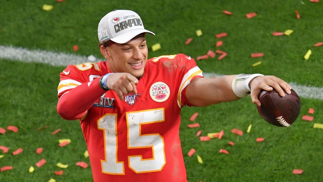 Patrick Mahomes, gran estrella de los Kansas City Chiefs, vencedores de la Super Bowl