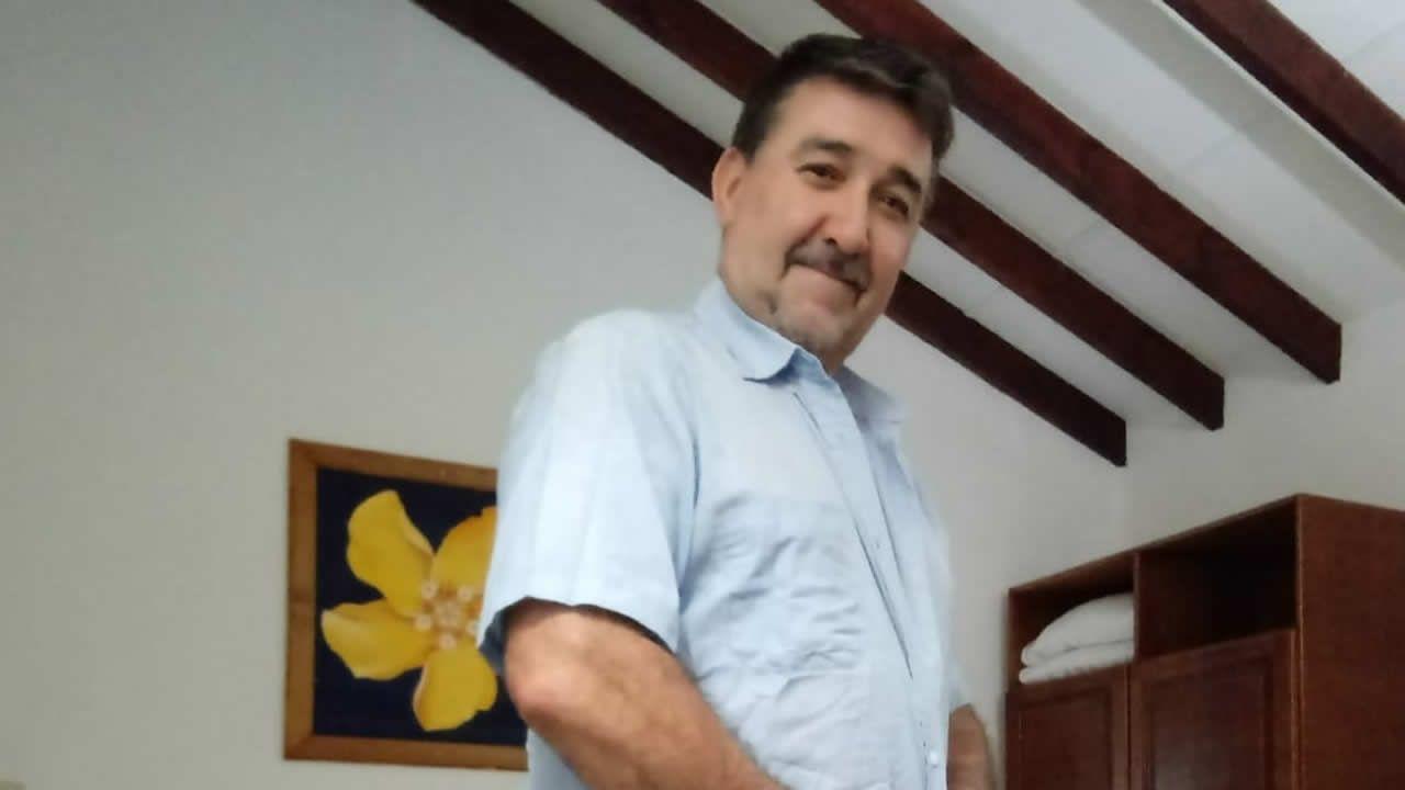 Carlos Urgal, gallego residente en Madagascar