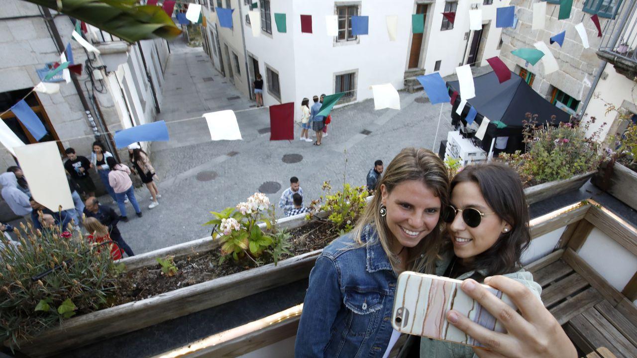 El efecto Instagram en la hostelería de Lugo.Paula Echevarría posando en Instagram