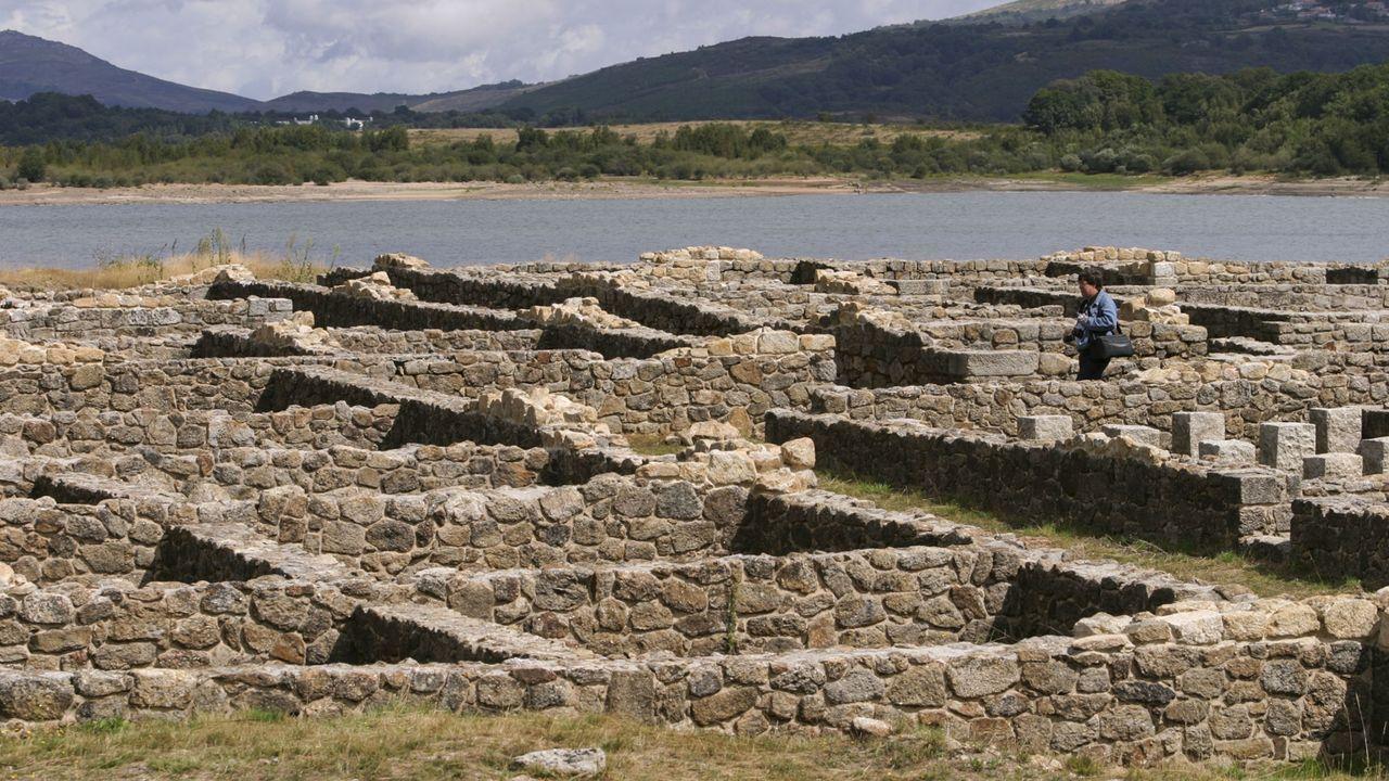 Imagen de archivo del campamento romano Aquae Querquennae