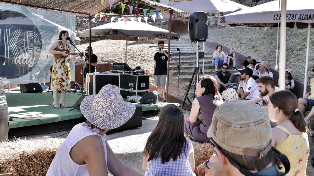 Imagen de archivo del festival del ukelele de Ribadavia
