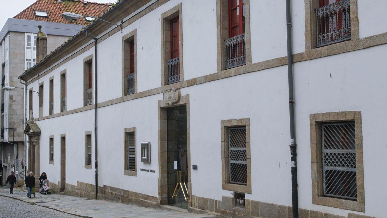 Torrente ballester u hospital de Caridad. Fue sede de la institución fundada por Dionisio Sánchez de Aguilera en 1782. Hoy es un espacio cultural.