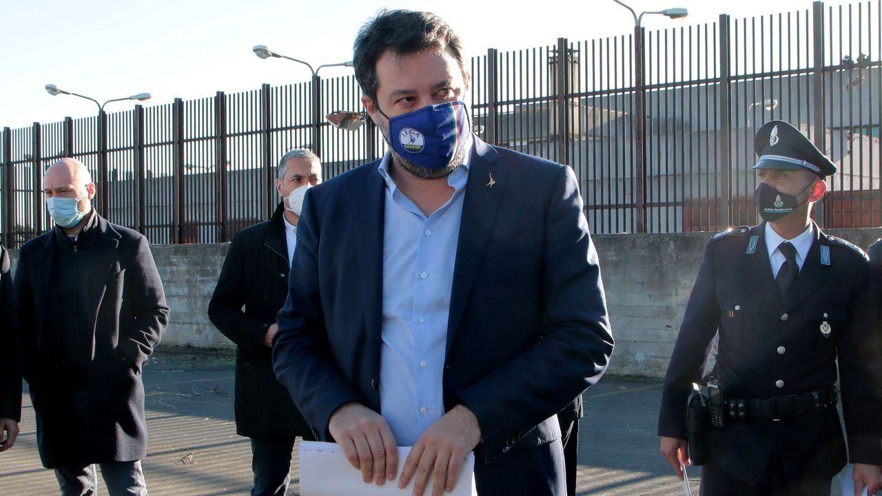 EL exministro del Interior italiano Matteo Salvini
