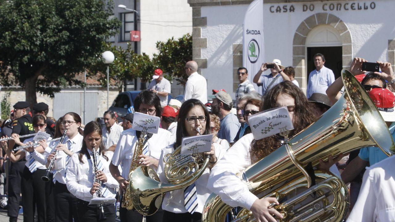 A Banda de Sober ofrecerá o domingo un pasarrúa xunto coa Banda de Chantada