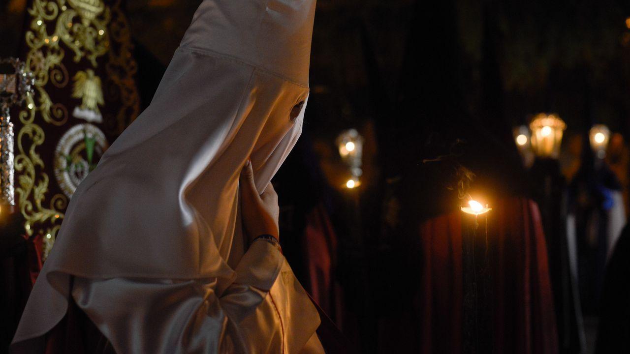 Procesión de Semana Santa en Ferrol
