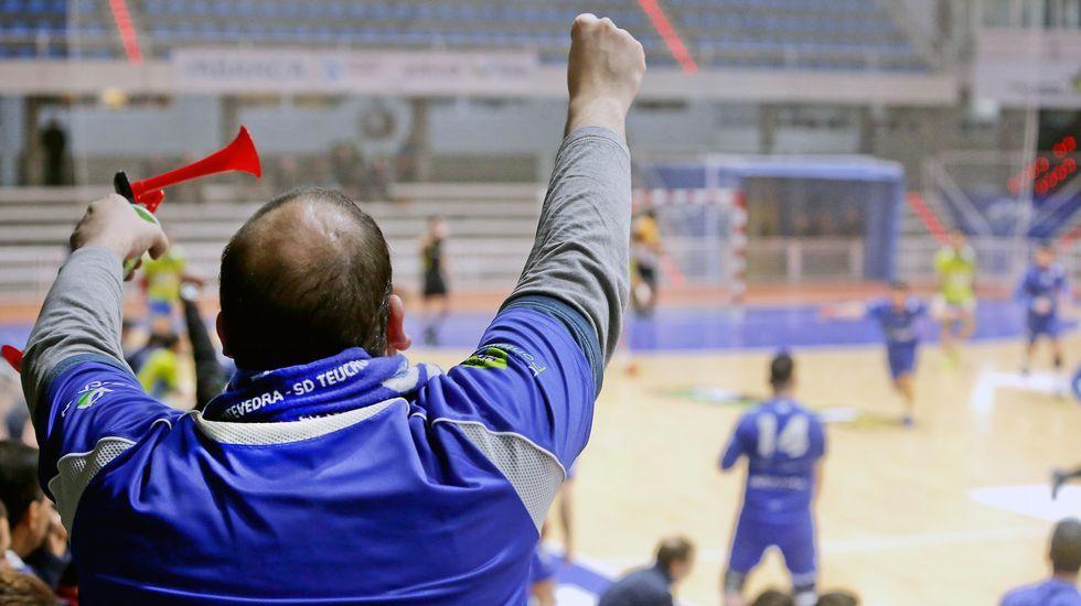 Balonmano SD Teucro versus Zamora