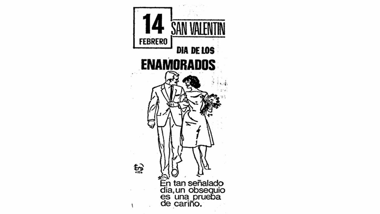 Anuncio publicado en La Voz de Galicia el 11 de febrero de 1973