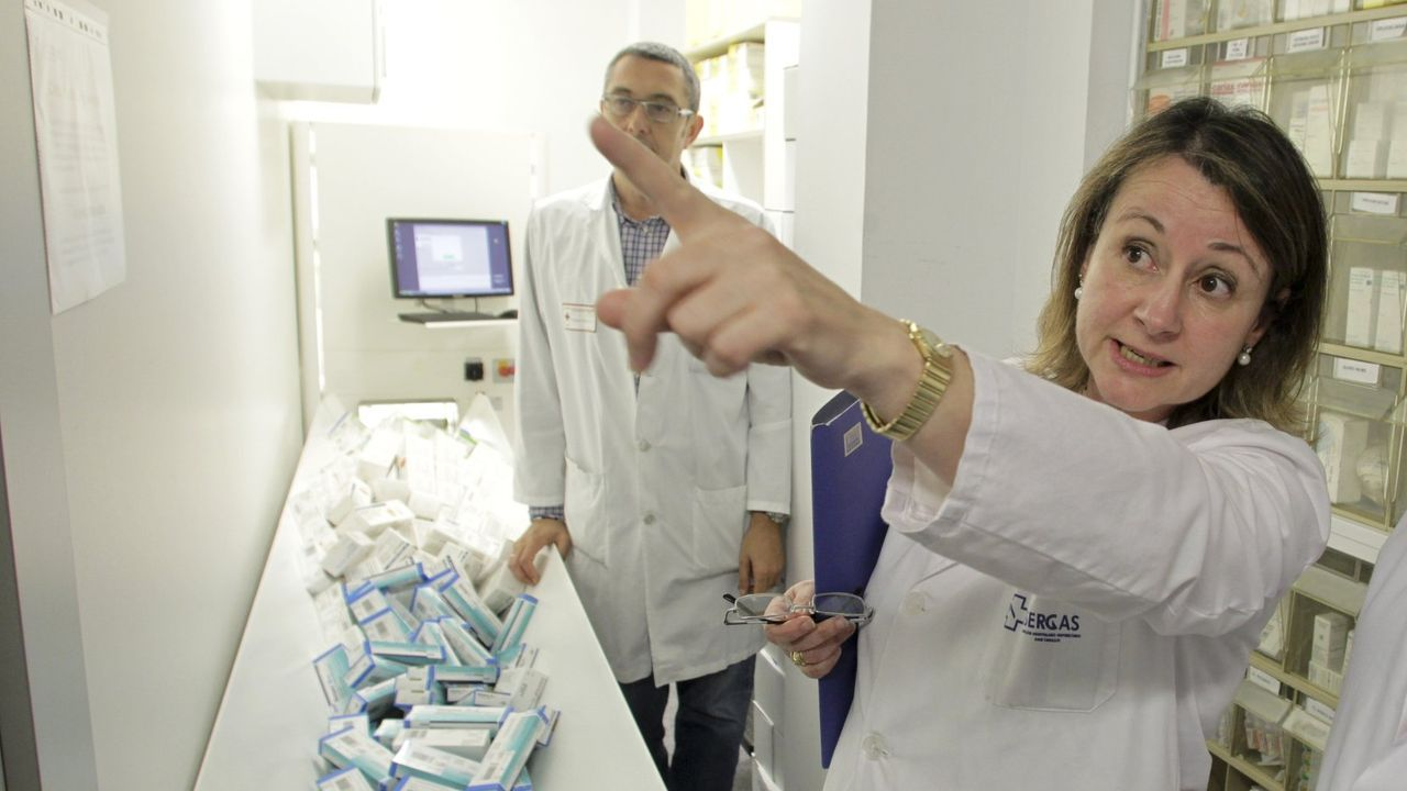 Isabel Martín, jefa de Farmacia del Chuac