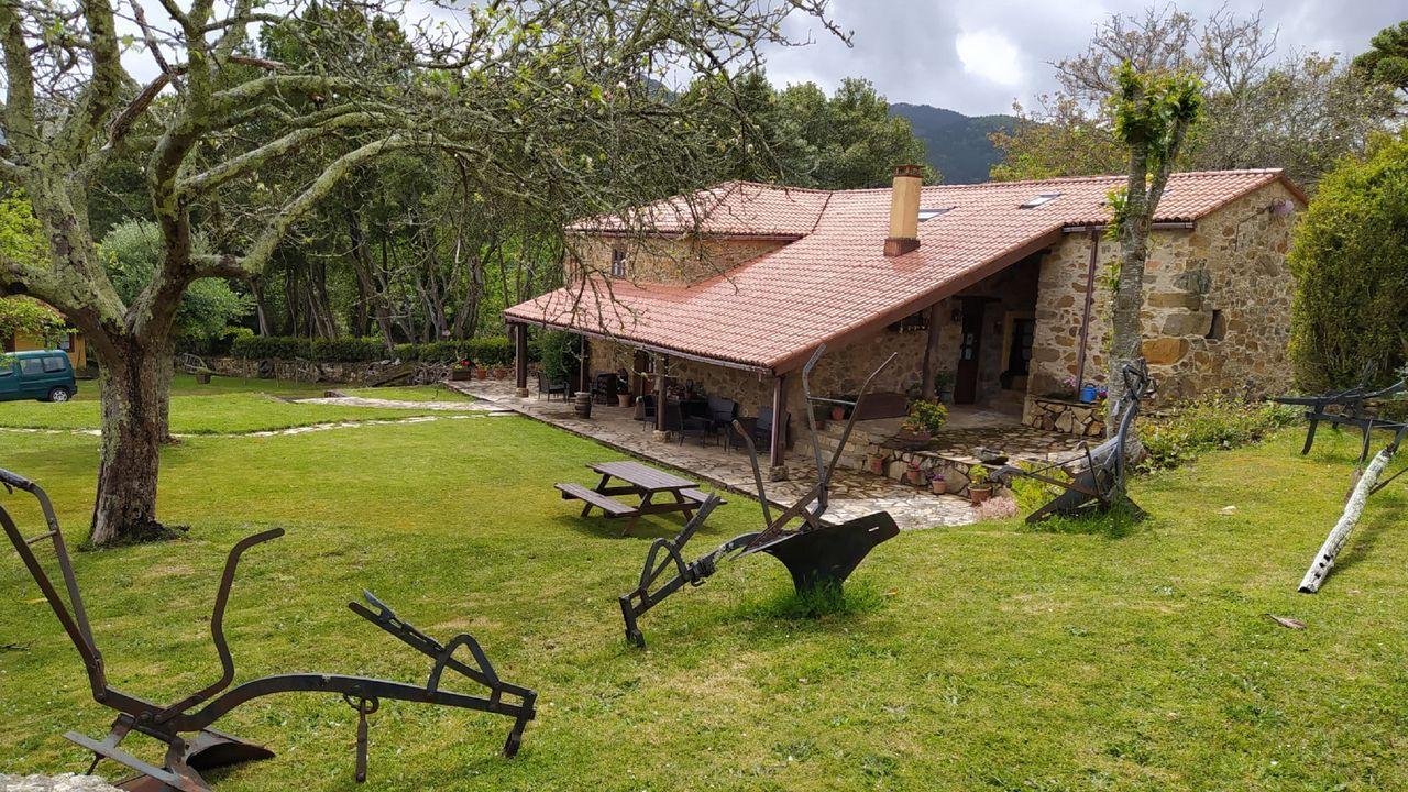 La casa rural Río da Cruz, en Cariño, está en funcionamiento desde hace casi 22 años