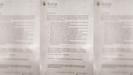 El documento que el Concello le ha mandado firmar a los trabajadores de la residencia de Sarria