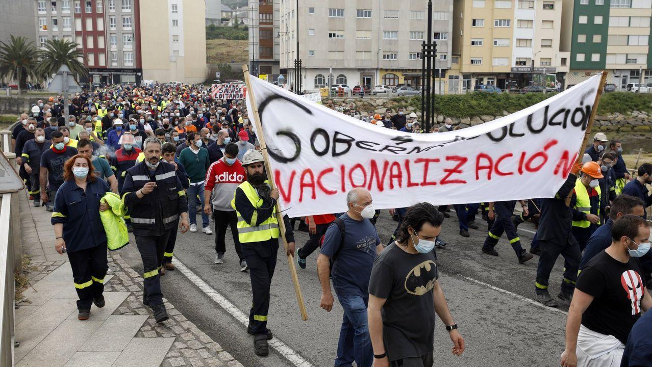 Reapertura de la lonja del Concello de Vigo tras el covid-19.Junta de portavoces del parlamento asturiano