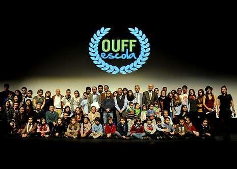Imagen del final del festival de cine de Ourense.